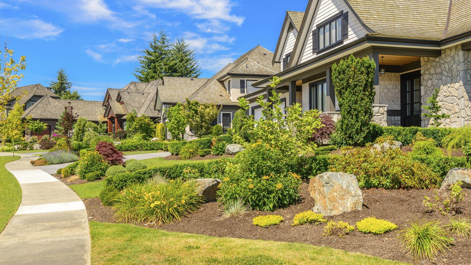 Novell Landscape Service Landscaping, Lawn Maintenance and Hardscaping slide 2